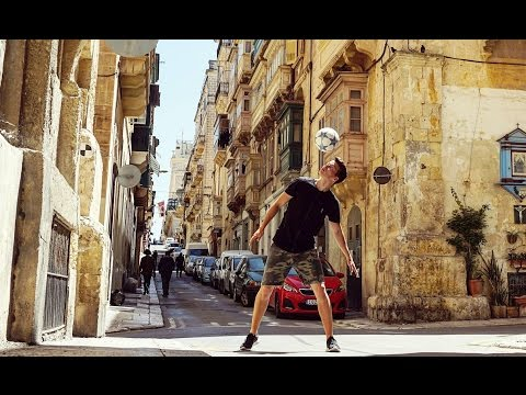 Spring Trip to Malta & Gozo - Freestyle Soccer Travel Vlog