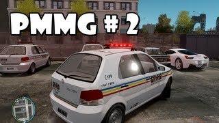 GTA IV - PMMG em patrulhamento : Perseguição e troca de tiros