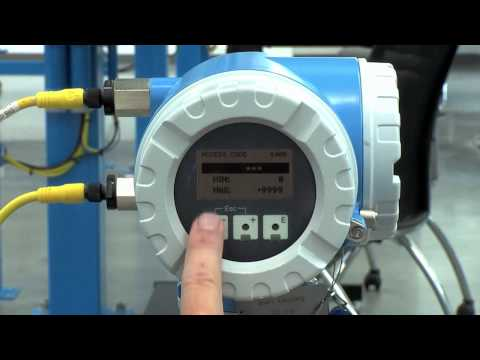 Setting up Low Flow Cutoff – Promag 53, Promass 83, Prosonic