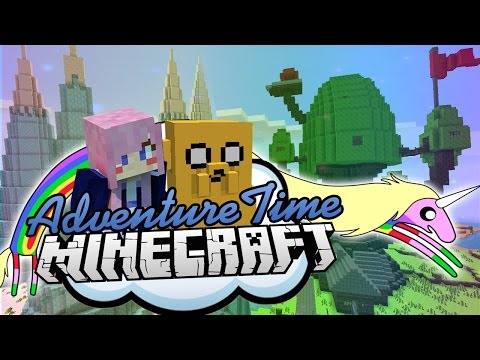 just-for-fun-|-adventure-time-minecraft-map