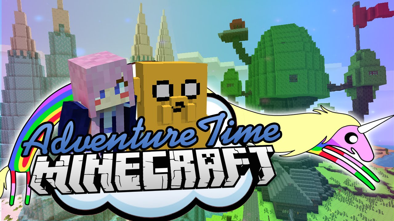 Just For Fun Adventure Time Minecraft Map Youtube
