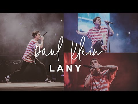 Paul Klein dancing (compilation) // LANY Live in Manila Day 1