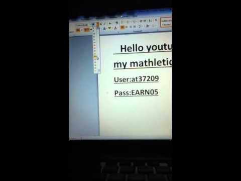 how to create a mathletics account