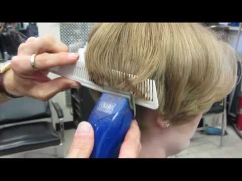 Casandra S Short Clipper Haircut Buzz Video Youtube