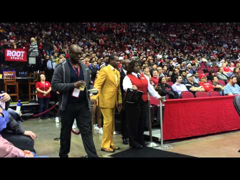 Calvin Murphy Former Houston Rocket In His Yellow Duds