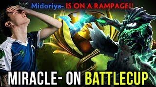 Liquid on Highest Tier Battlecup - Miracle- OD Pick EZ Rampage vs AdmiralBulldog Sylla - Dota 2
