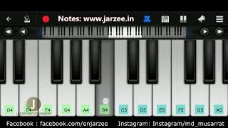 Inkem Inkem Piano Tutorial | Geetha Govindam | Easy Mobile Piano Tutorial | Jarzee Entertainment