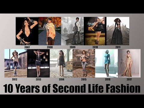 10 Years of Second Life Fashion – StrawberrySingh com