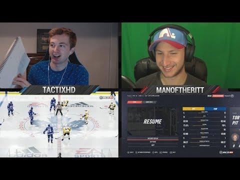 NHL 19 UP THE ANTE! w/ ManOfTheRitt