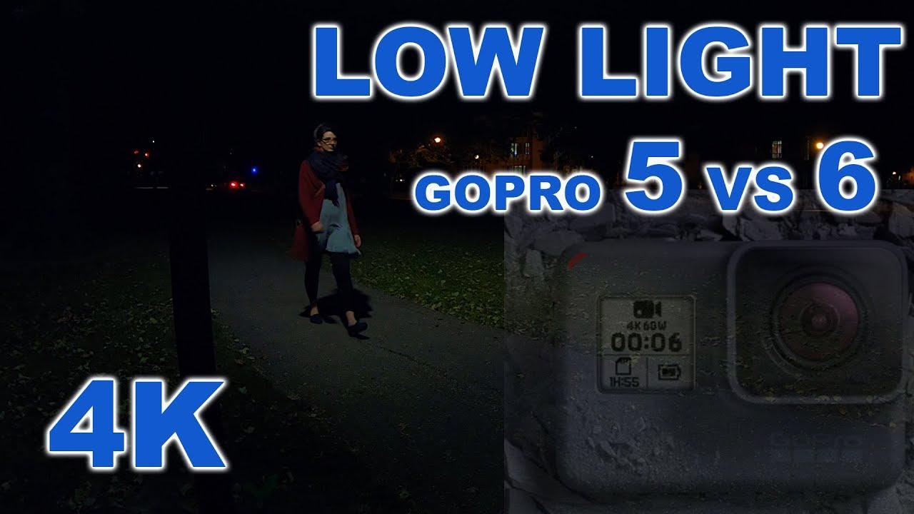 Gopro hero 5 vs 6 night