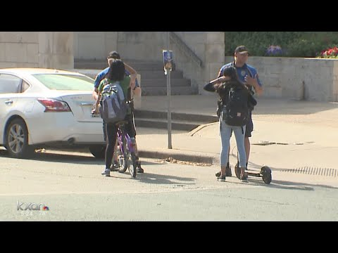 UTPD cracking down on bicyclists, e-scooter riders violating the law
