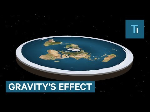 What If The Earth Were Flat?