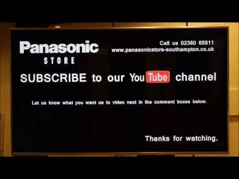 Panasonic Viera TV Sound Menu & Equaliser