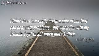 ➿ Top 10 Quotes of Dakota Blue Richards - Film actress
