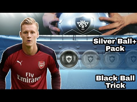 SILVER BALL PACK BLACK BALL TRICK IN PES 2019 MOBILE