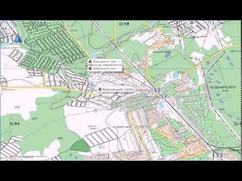 Карта г. Чехова Московской области, карта чеховского