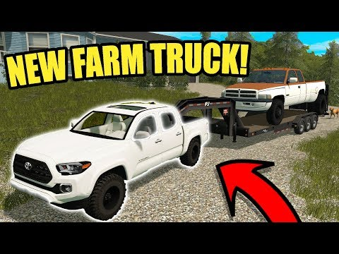 WE BOUGHT A BRAND NEW FARM TRUCK!! | FARMING SIMULATOR 2017 | EP# 33