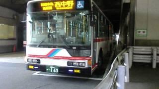 【名鉄バス】西中野行き 名鉄一宮BT発車