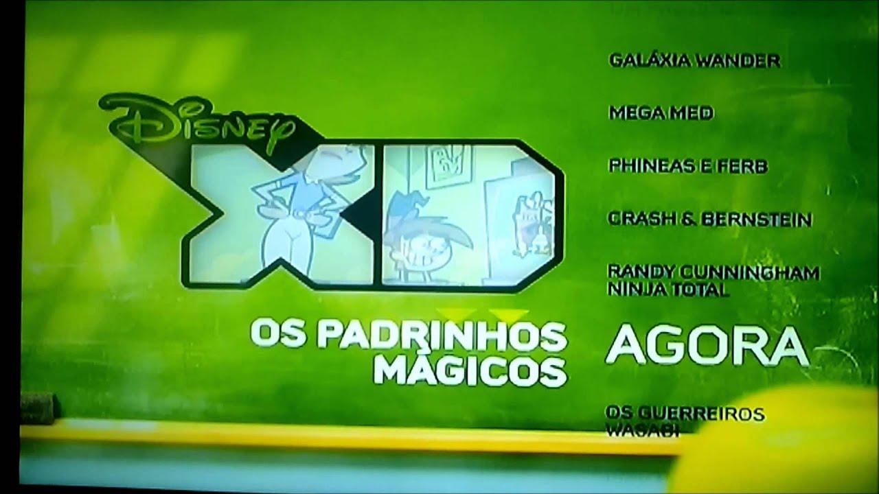 Disney Xd Bumpers 1 : Bumpers os padrinhos mágicos disney xd brasil