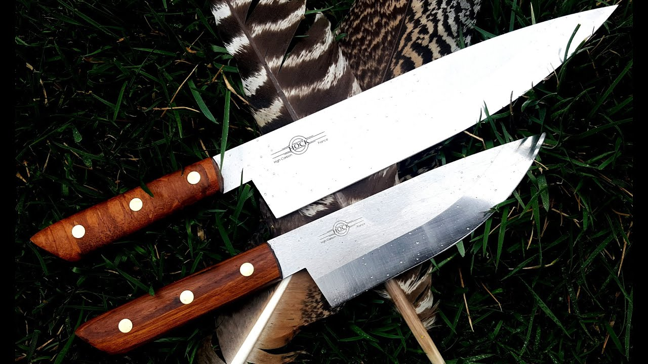 how to make handles for the hock kitchen knives youtube
