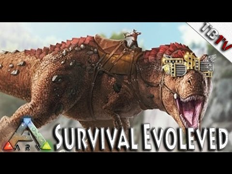 Ark: Survival Evolved HOW TO TAME A T-REX!!! - SUPER T-REX TAME! Ark Survival Evolved S3E13
