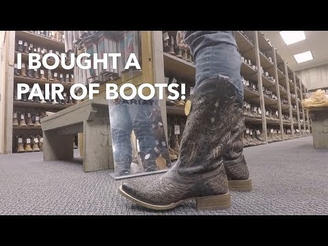 I bought a pair of Boots! | Cavender's | Dallas, TX