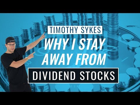 Why I Stay Away From Dividend Stocks