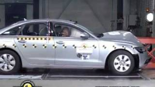 2011 Audi A6 (C7) EuroNCAP Crash Tests (Frontal, Side, & Pole Impacts)