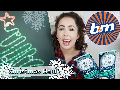 B&M CHRISTMAS NEW IN HAUL | 2019