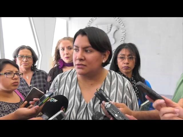 Entrevista a Dra. Perla Gómez al término de  la presentación Recomendación 4/2017 caso Narvarte