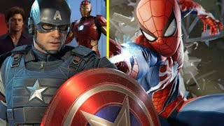 This TINY Detail Confirms Spider-Man & The Avengers Games Are Connected