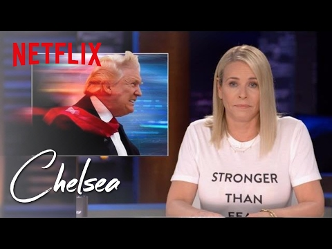 Trump Is a Time Traveller | Chelsea | Netflix