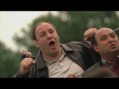 Tony Is Proud Of His Son AJ - The Sopranos HD