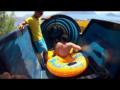Black Hole Water Slide at Aqua Dream Water Park