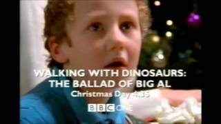 christmas on bbc one 2000 walking with dinosaurs trailer plus christmas morning ident