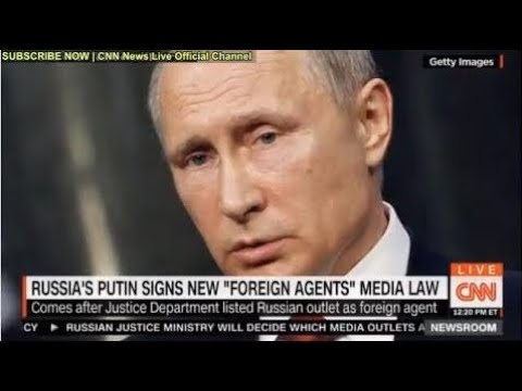BREAKING NEWS: RUSSIA'S PUTIN SIGNS NEW FOREIGN AGENTS MEDIA LAW