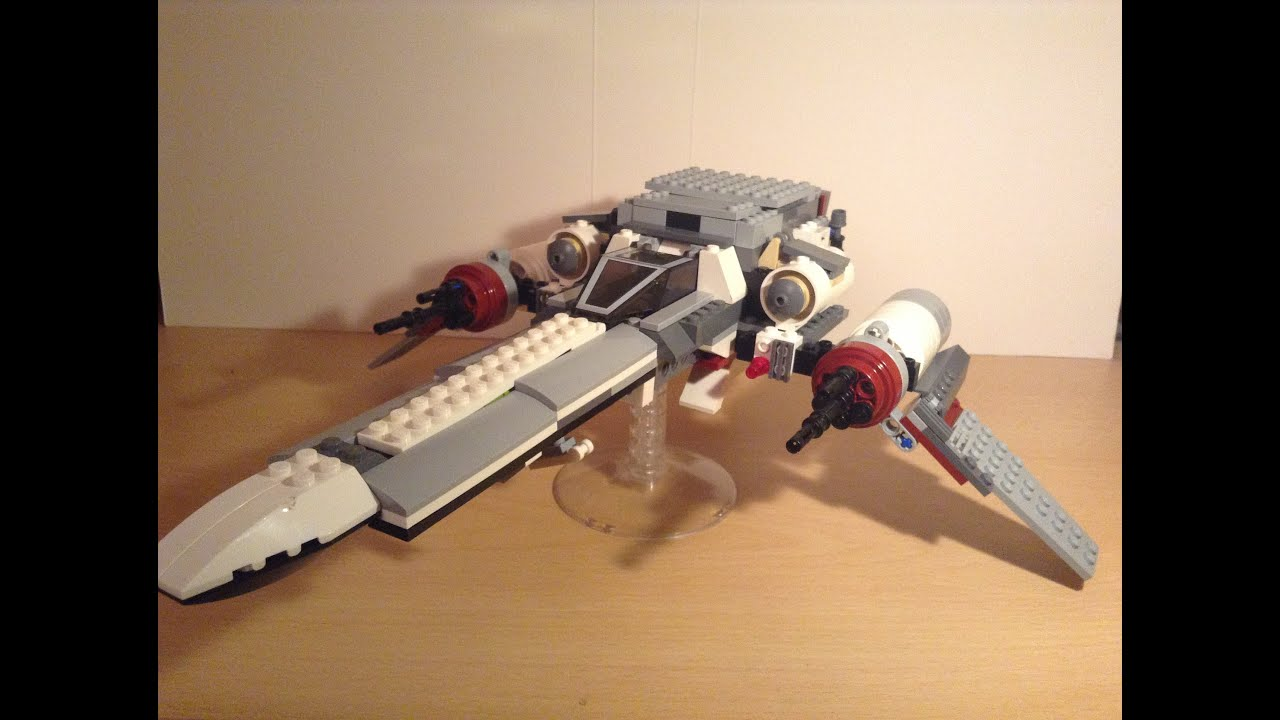Lego vaisseau star wars moc cr ation youtube - Image star wars vaisseau ...