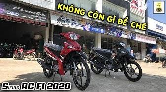 Review Yamaha Sirius RC FI 2020 TUYỆT ĐẸP –GIÁ OK tại YAMAHA Mạnh Đạt - Lai Châu 🔴 TOP 5 ĐAM MÊ