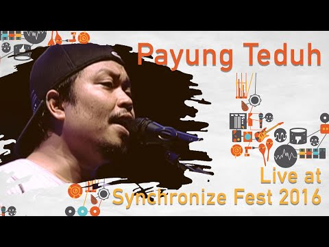 Payung Teduh live at SynchronizeFest - 28 Oktober 2016