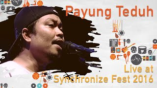 Gambar cover Payung Teduh live at SynchronizeFest - 28 Oktober 2016