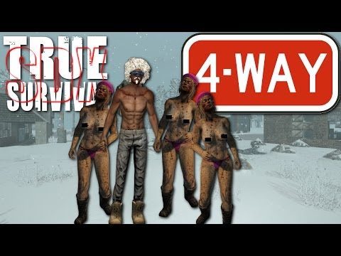 7 Days To Die :True Survival mod : 4 way |SDX|  Ep 35