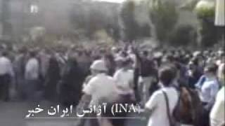 12 June 10. Sharif University of Tehran students protest against the government of Iran