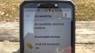 How to turn off disable remove talk back accessibility app on android devices 2018 new method!