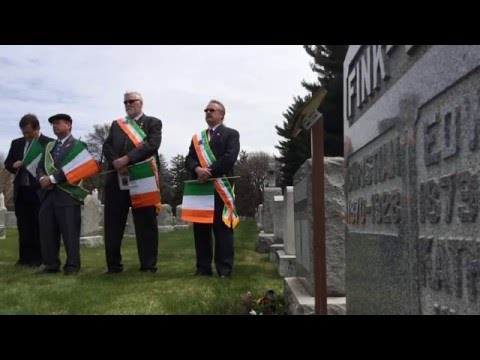 Irish connection remembered
