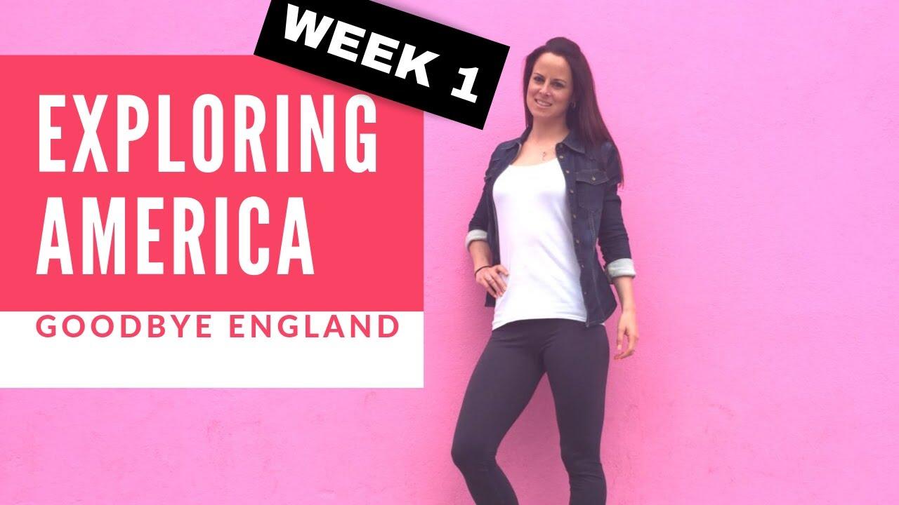 Chloe Bruce tours America   Leaving for America   My VLOG week 1