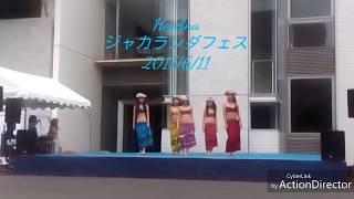 2017年6月11日 14時10分公演 横須賀・神奈川歯科大学の「ジャカランダフ...