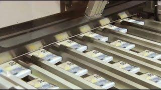 Amazing Money Print Technology 20 Euro Note Print Process