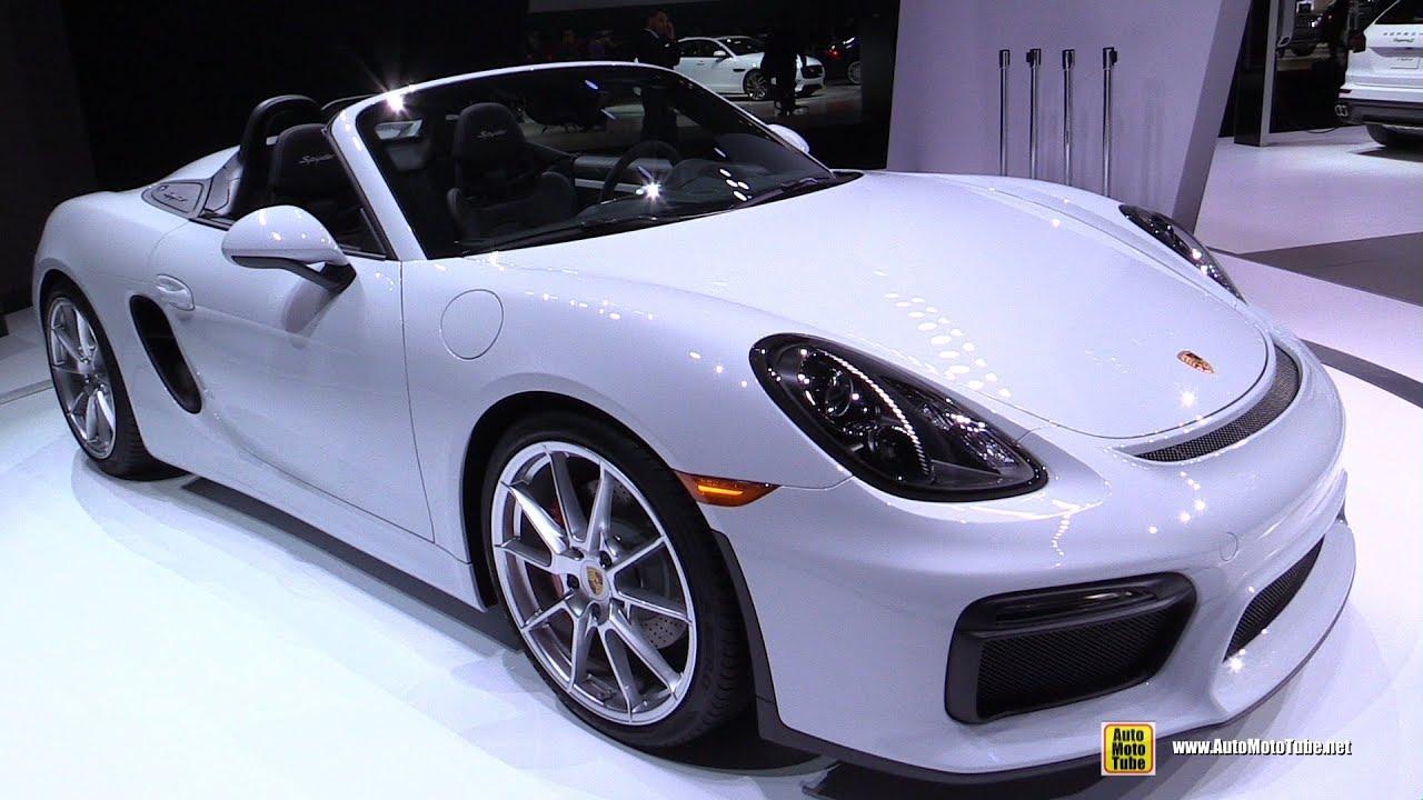2016 Porsche Boxster Spyder - Exterior and Interior Walkaround ...