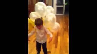 Nanny wedding balloon