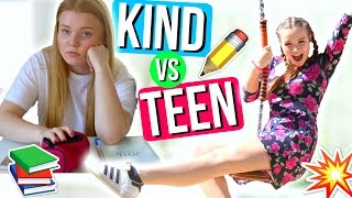 KIND VS TEENAGER IN DER SCHULE! | Julia Beautx